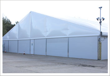 Temporary Warehouse Structures for Industrial Purposes